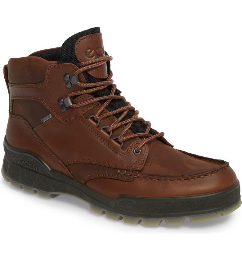 ECCO Track II High Waterproof Boot, Main, color, Bison