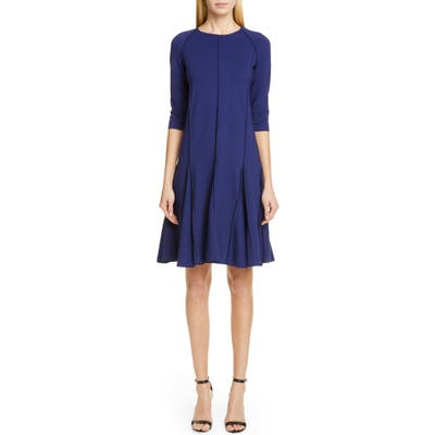 Emporio Armani A-Line Dress, US / 46 IT - Blue