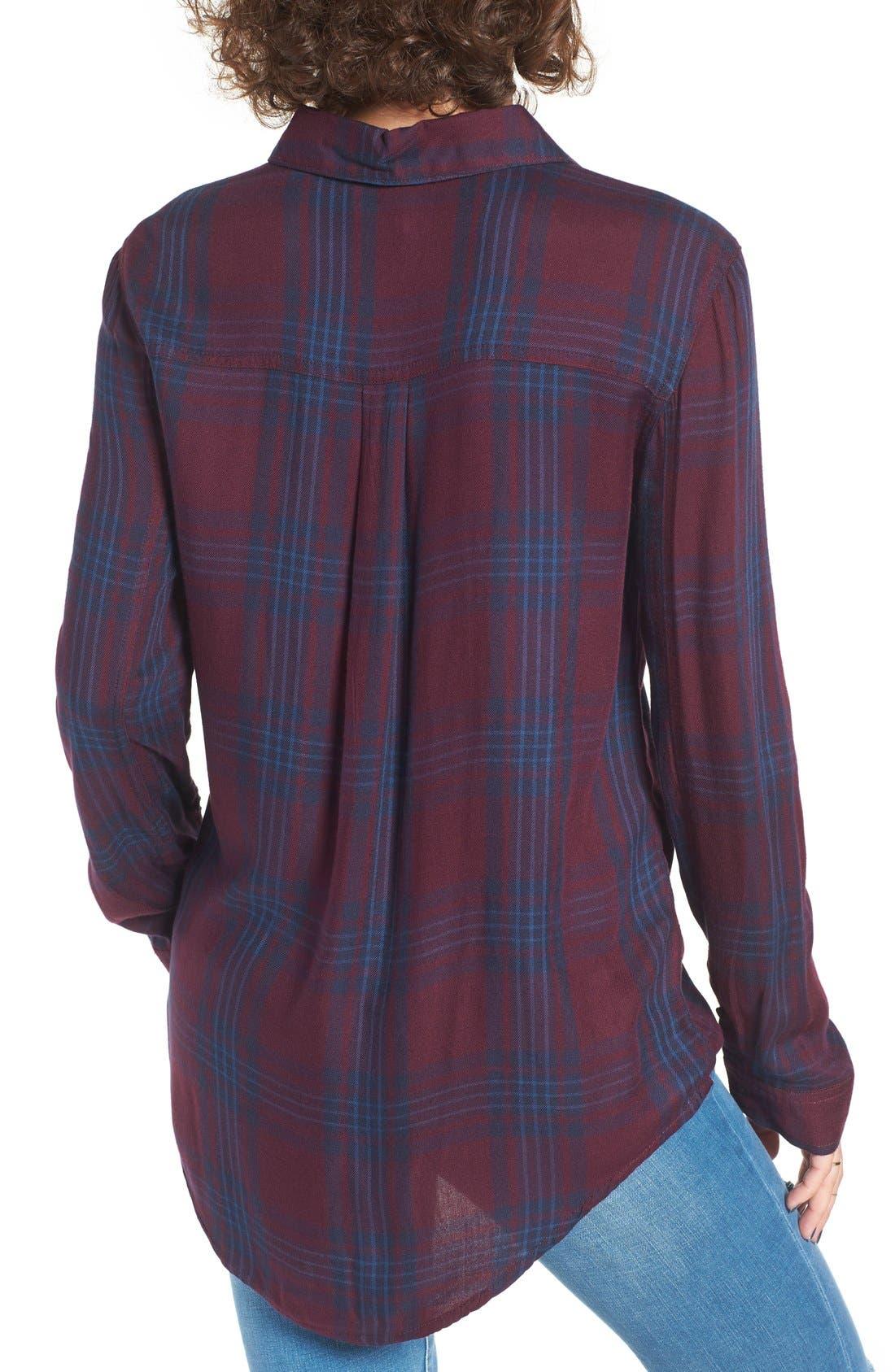 ,                             Plaid Tunic Shirt,                             Alternate thumbnail 50, color,                             930