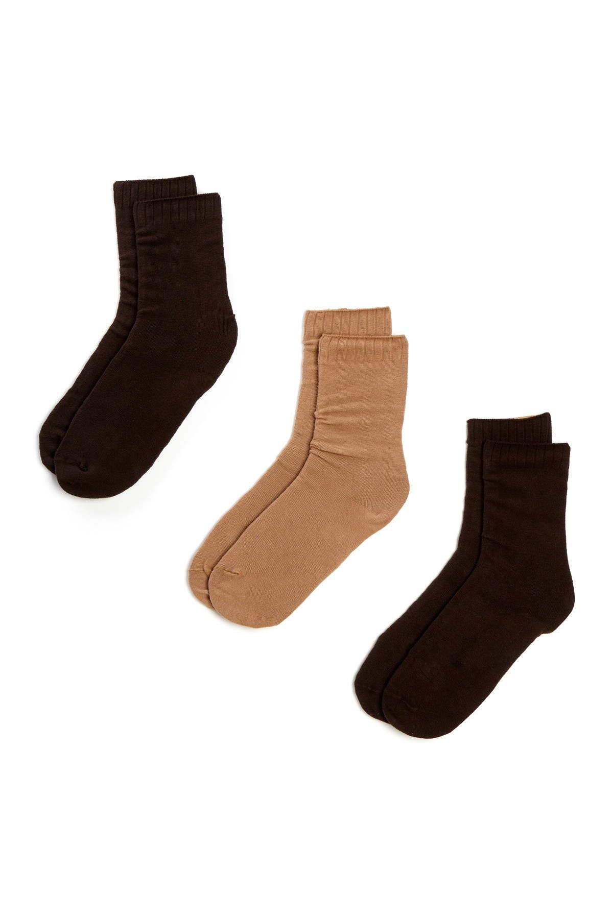 HUE New Loafer Socks - Pack of 3 at Nordstrom Rack