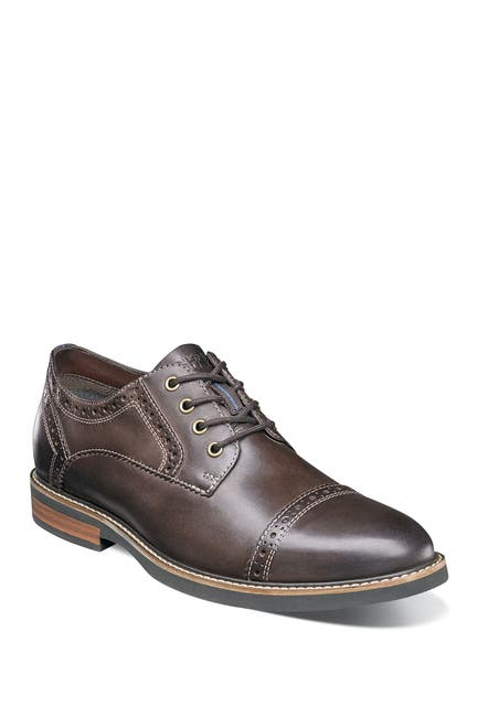 Image of NUNN BUSH Overland Cap Toe Oxford - Wide Width Available