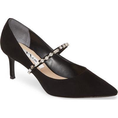 Nina Stella Embellished Pump, Black