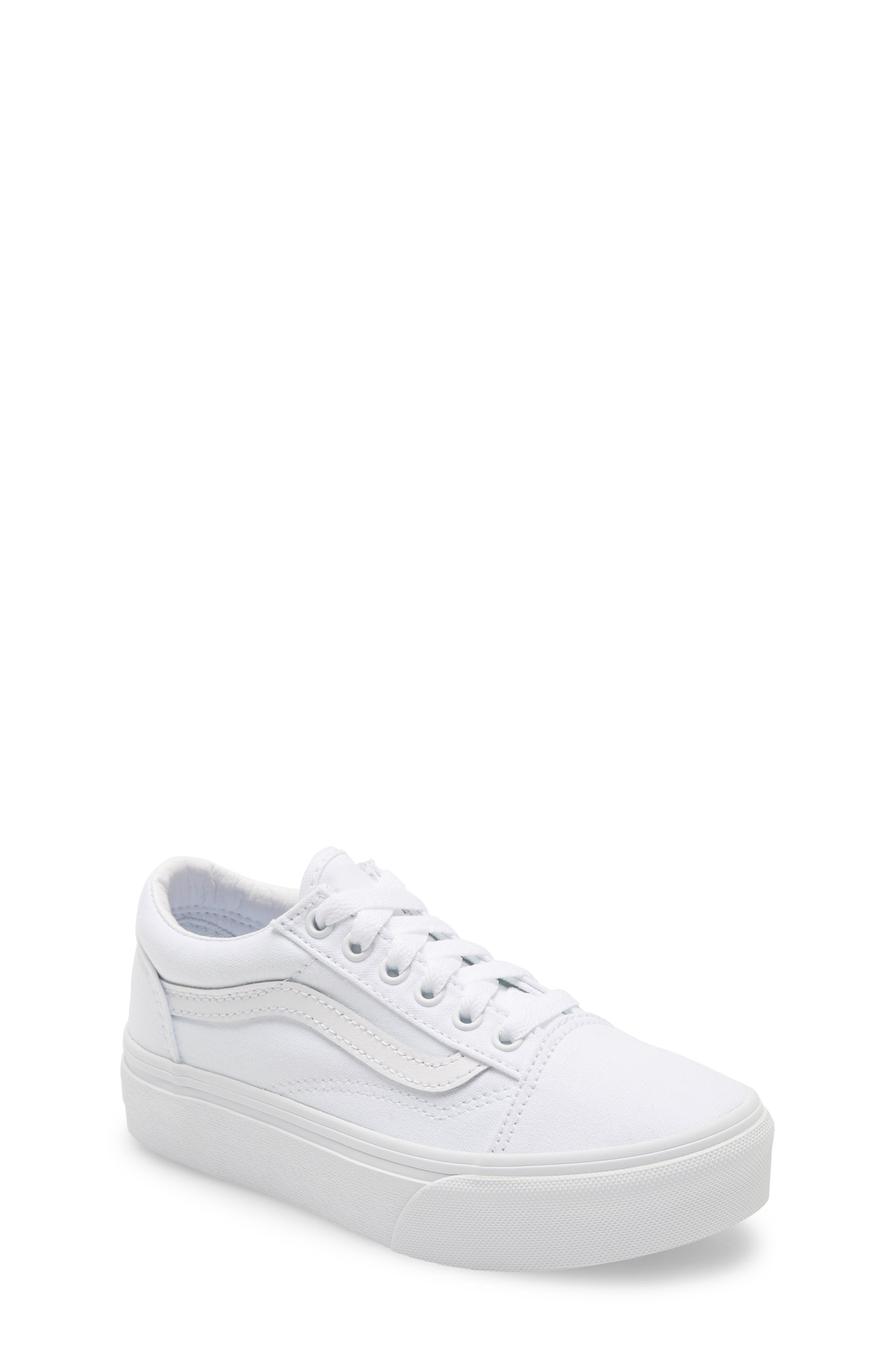Vans Old Skool Platform Sneaker (Little