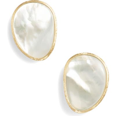Marco Bicego Lunaria Pearl Stud Earrings