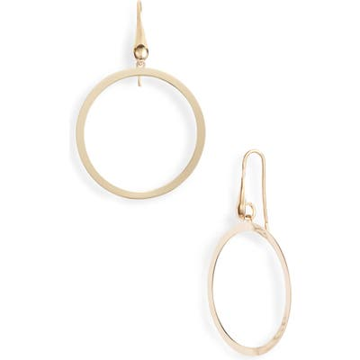 Karen London Caelynn Hoop Drop Earrings