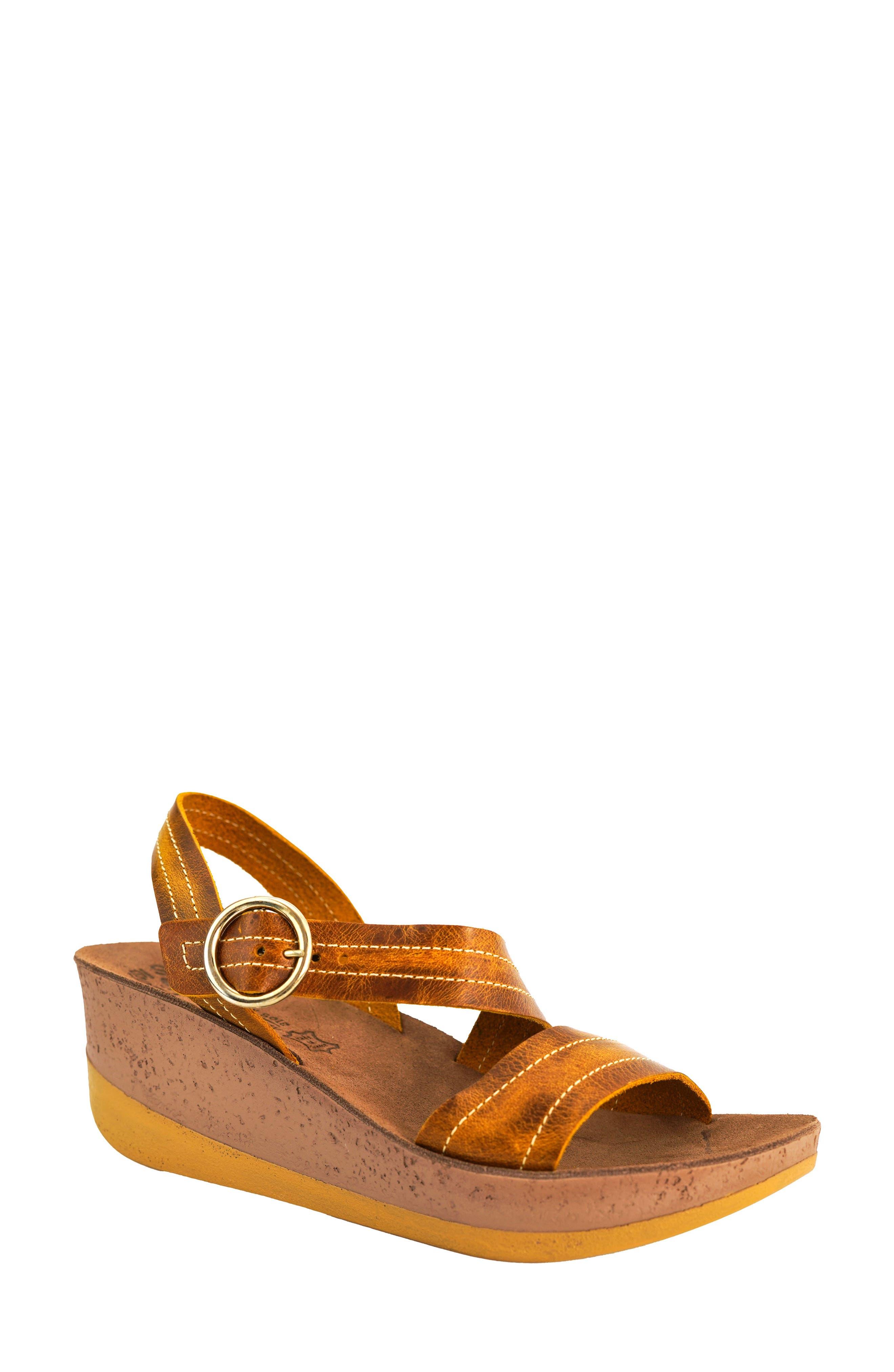 Nina Platform Wedge Sandal