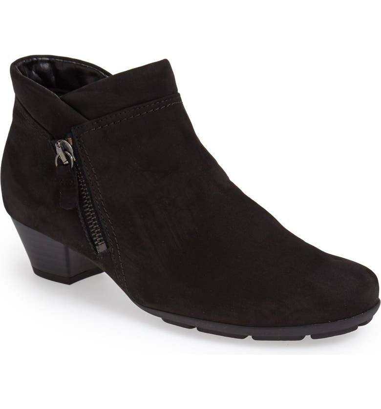 GABOR Ankle Bootie, Main, color, 001