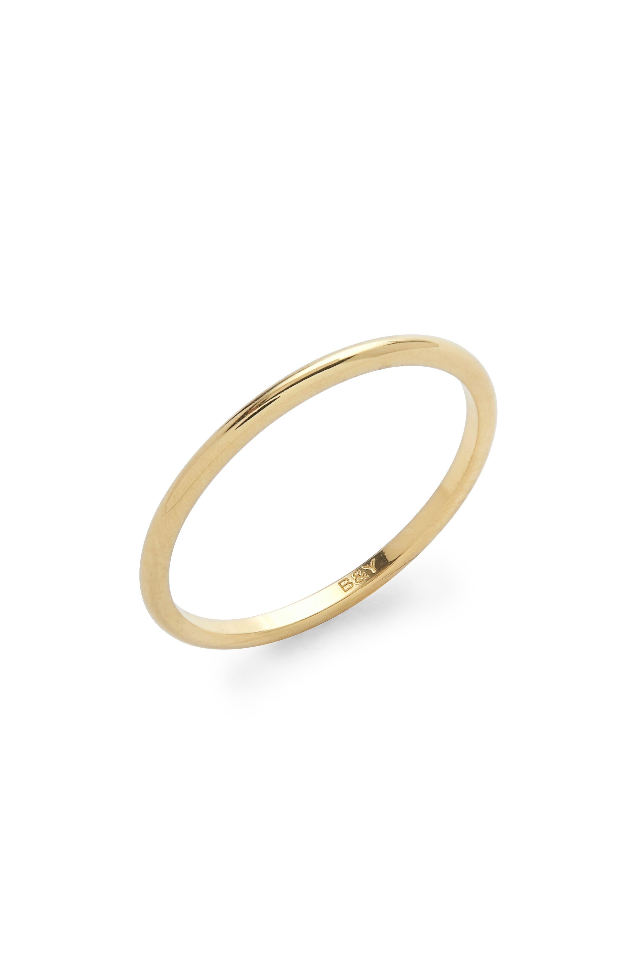 Demi Band Ring