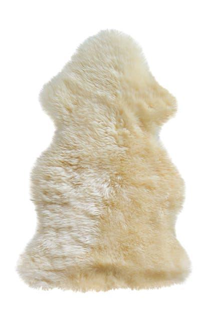 Image of Natural New Zealand Genuine Sheepskin Rug - 2ft x 3ft - Gold