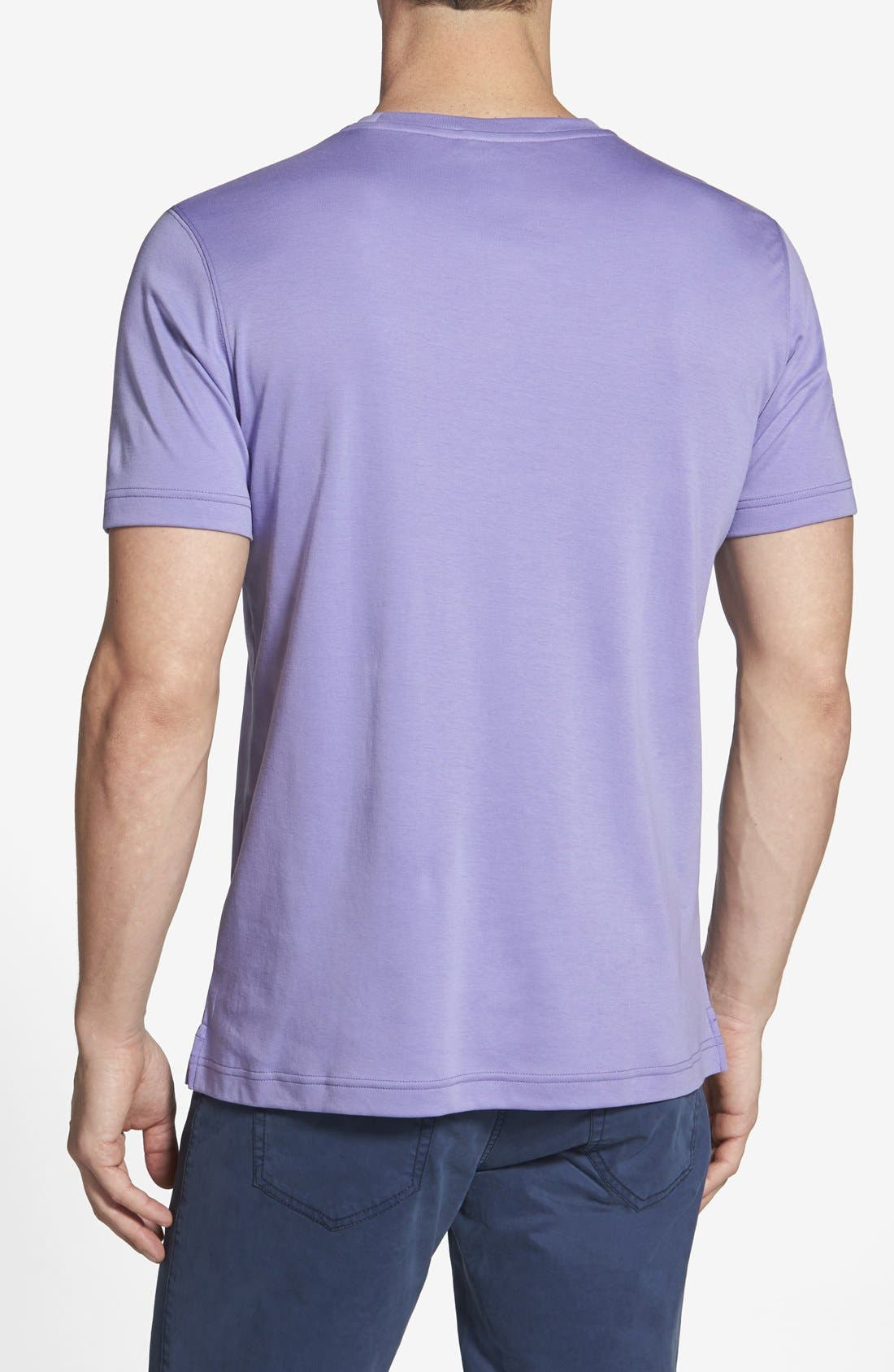 ,                             Georgia Crewneck T-Shirt,                             Alternate thumbnail 411, color,                             560