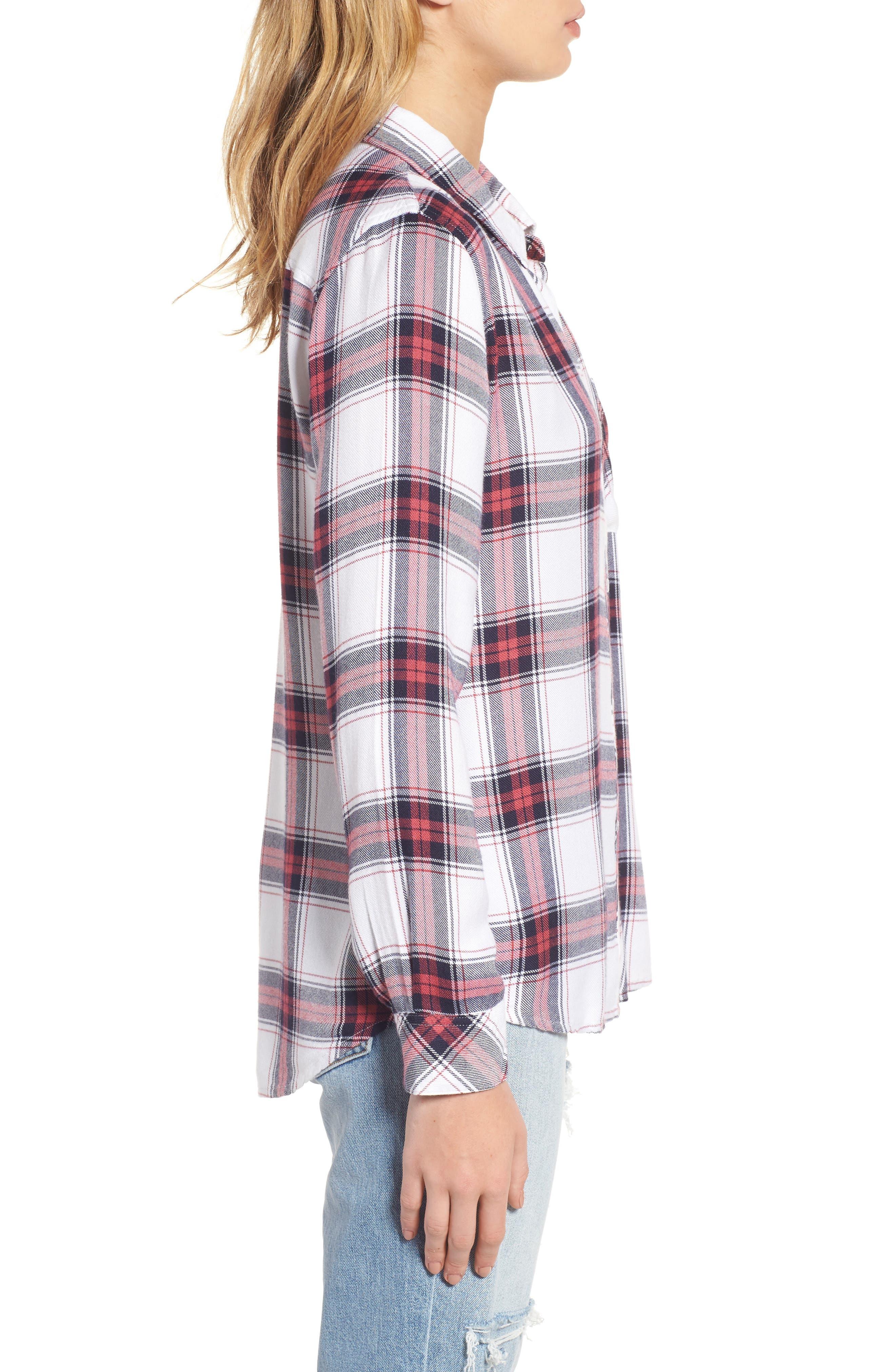 ,                             Hunter Plaid Shirt,                             Alternate thumbnail 659, color,                             168
