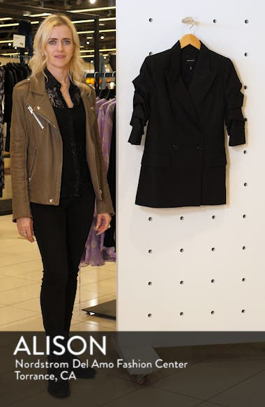 Kelly Ruched Sleeve Jacket, sales video thumbnail