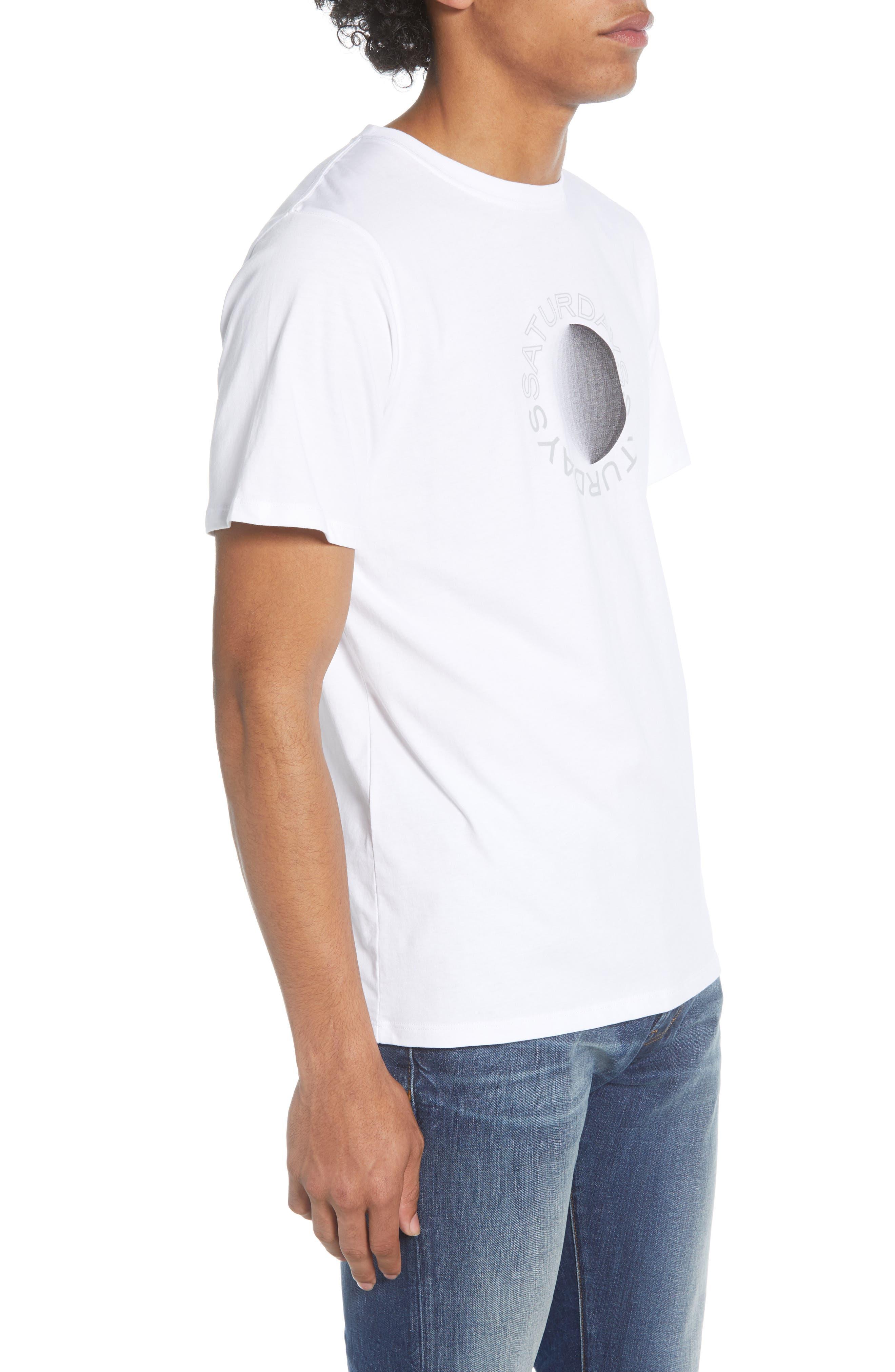 SATURDAYS NYC Moon Gradient Short Sleeve T-Shirt