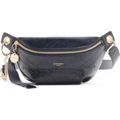 Givenchy Quilted Leather Belt Bag - Black