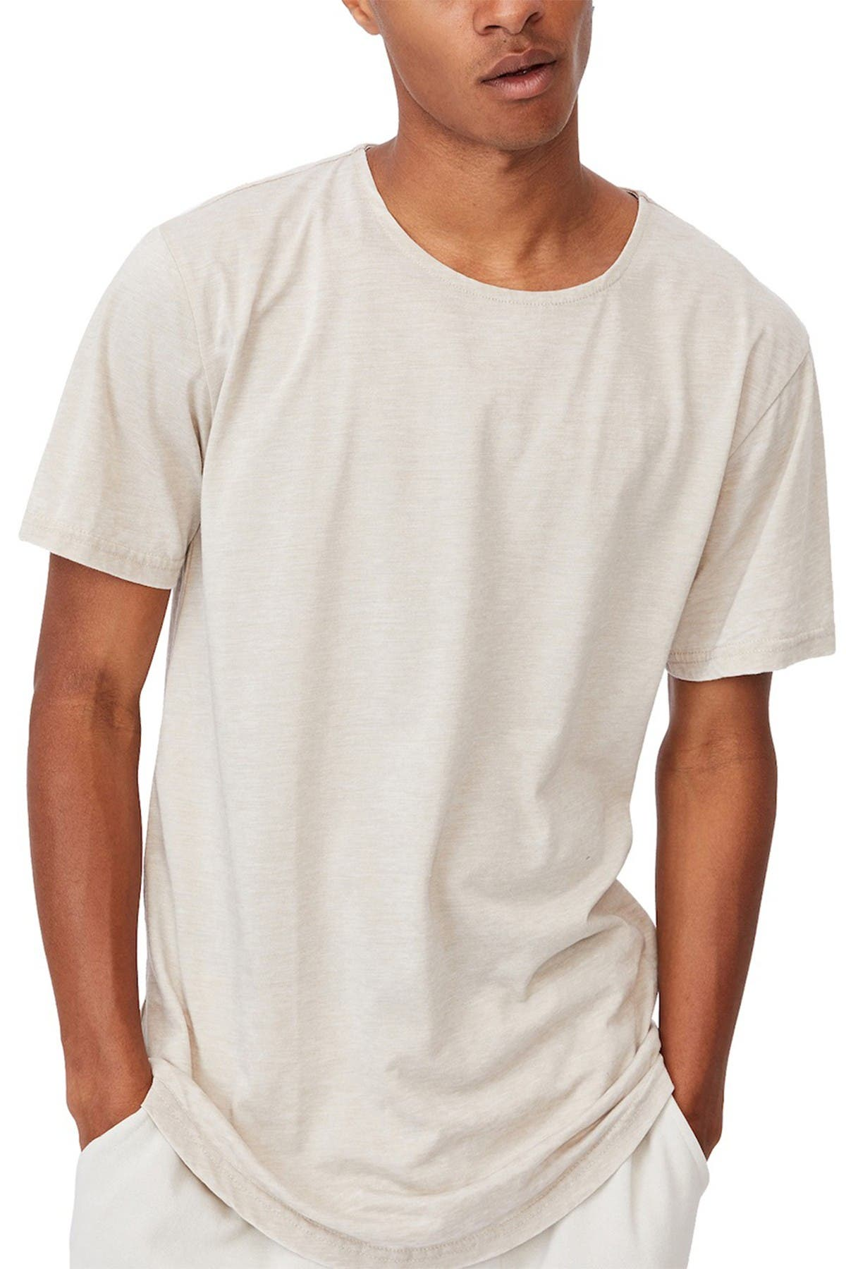 Cotton On Longline Scoop Burnout T-Shirt at Nordstrom Rack