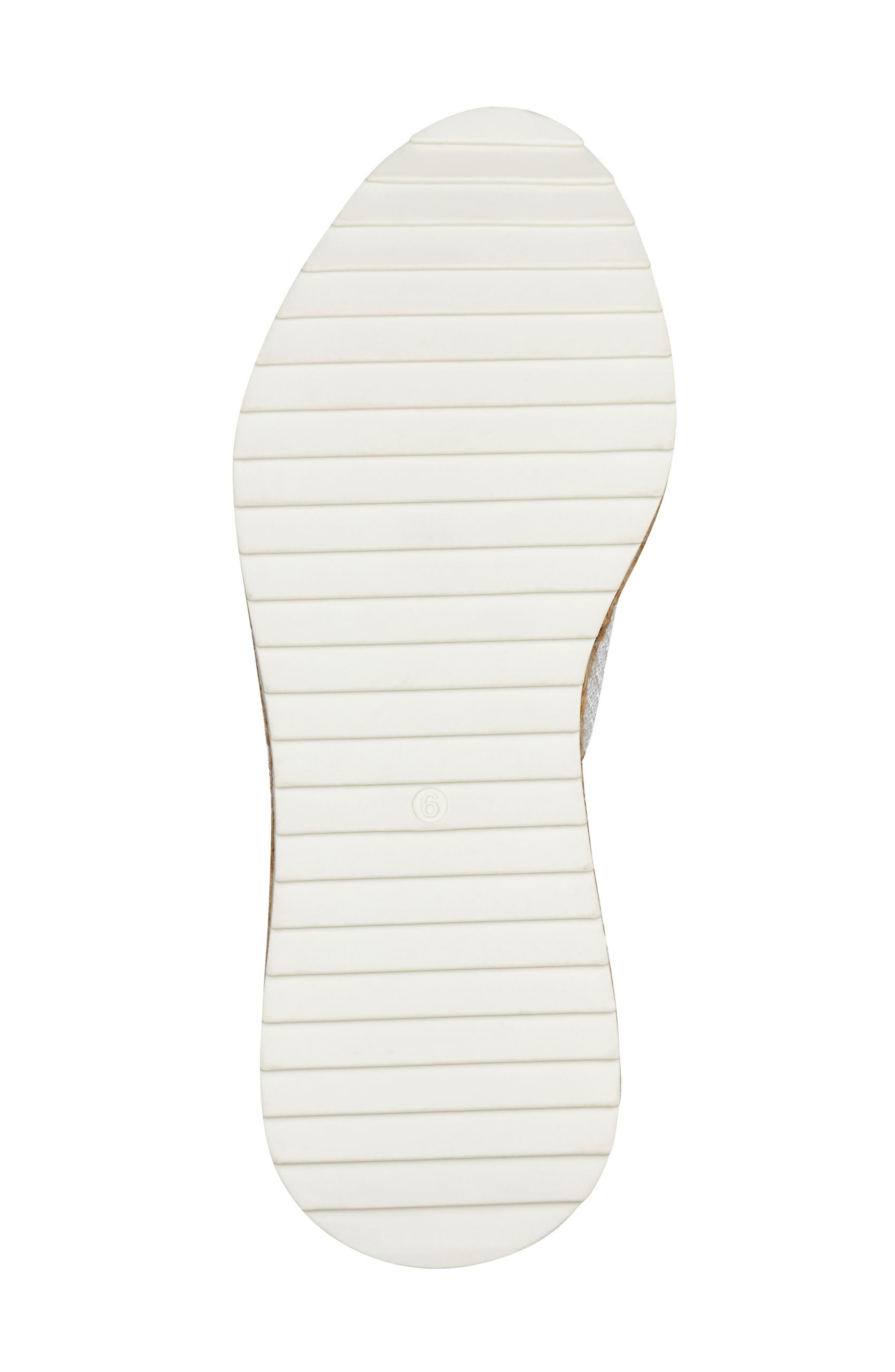 ,                             Janette Espadrille Sneaker,                             Alternate thumbnail 6, color,                             001