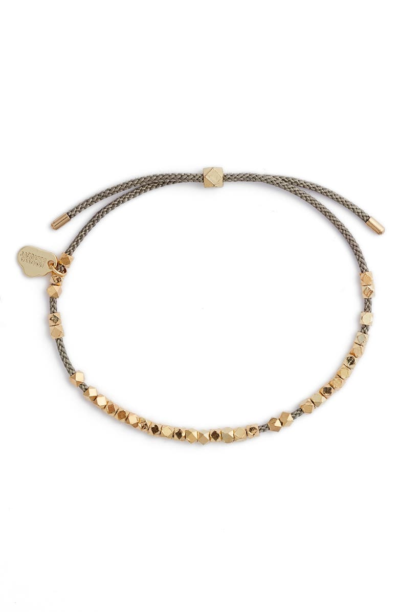 ESTELLA BARTLETT Coco Friendship Bracelet, Main, color, GOLD