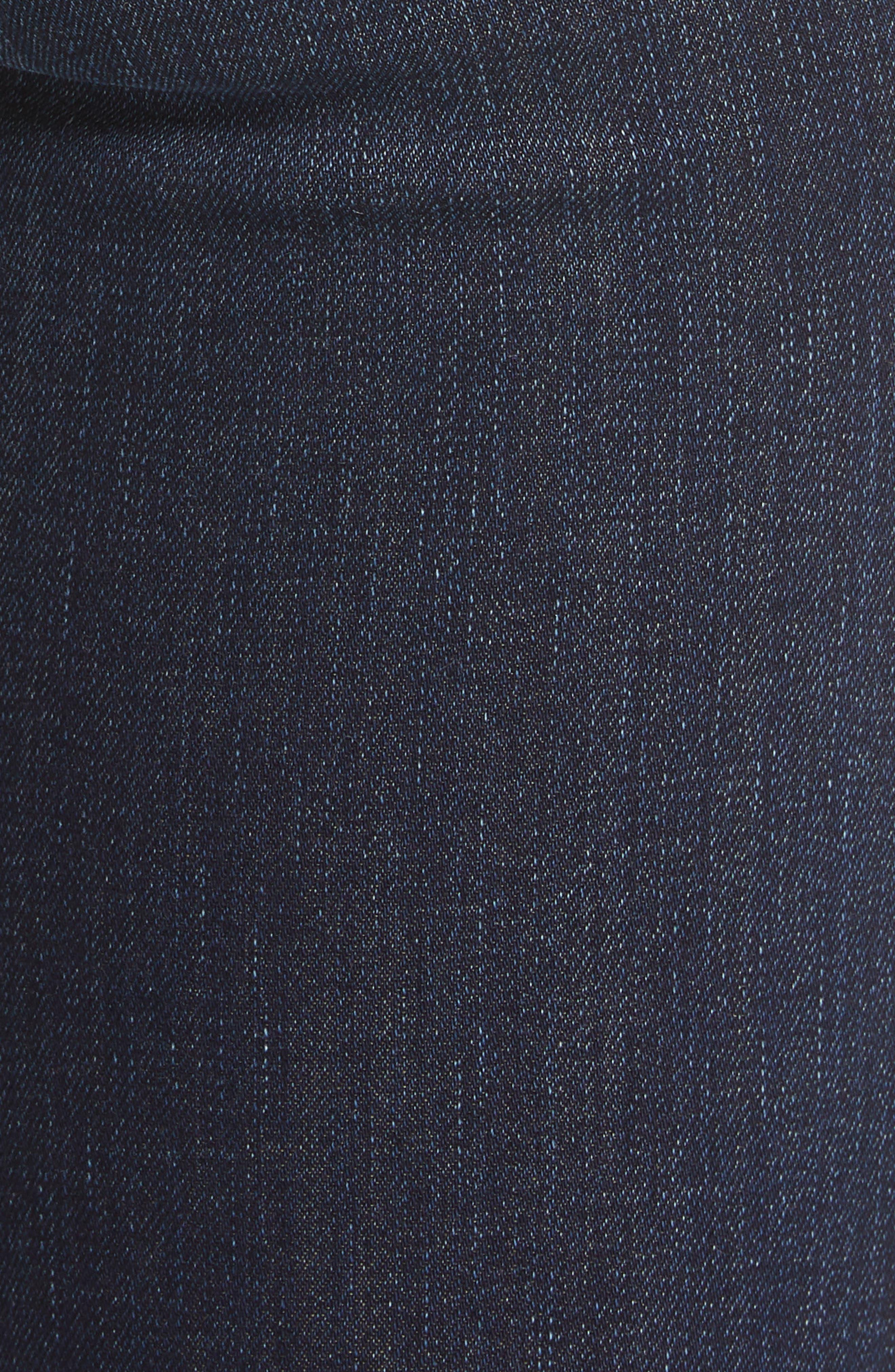 ,                             High Waist Ankle Skinny Jeans,                             Alternate thumbnail 6, color,                             420