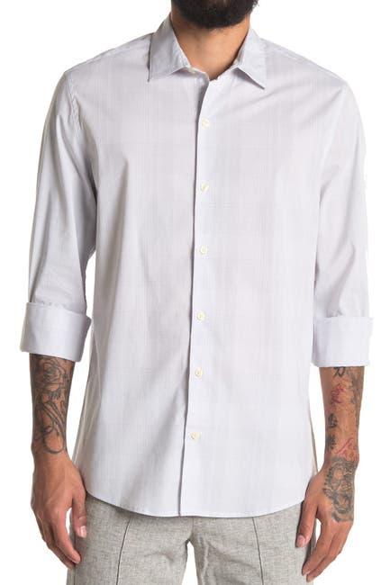 Image of DKNY Long Sleeve Plaid Shirt