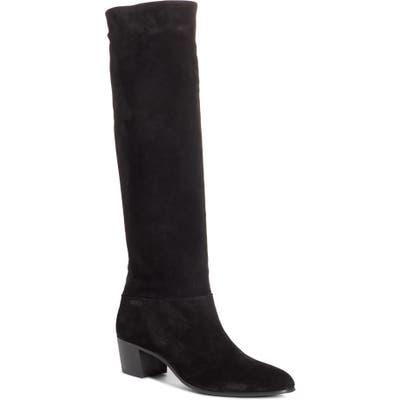 Prada Knee High Boot - Black