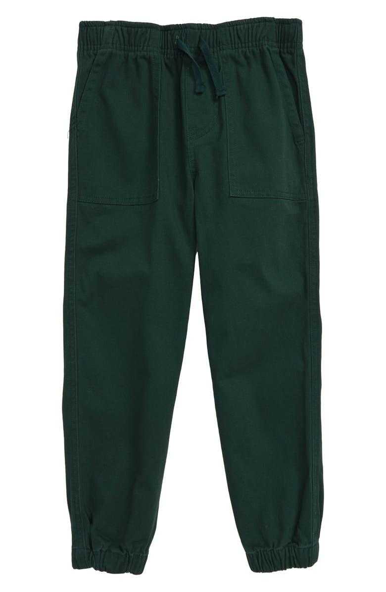TEA COLLECTION Woven Jogger Pants, Main, color, DEEP TEAL