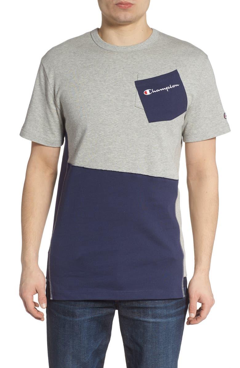 0f59c3873b9a Heritage Shift Pocket T-Shirt, Main, color, OXFORD GRAY/ IMPERIAL INDIGO