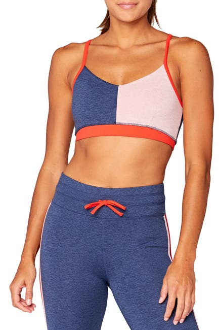 Image of Threads 4 Thought Fran Colorblock Sports Bra