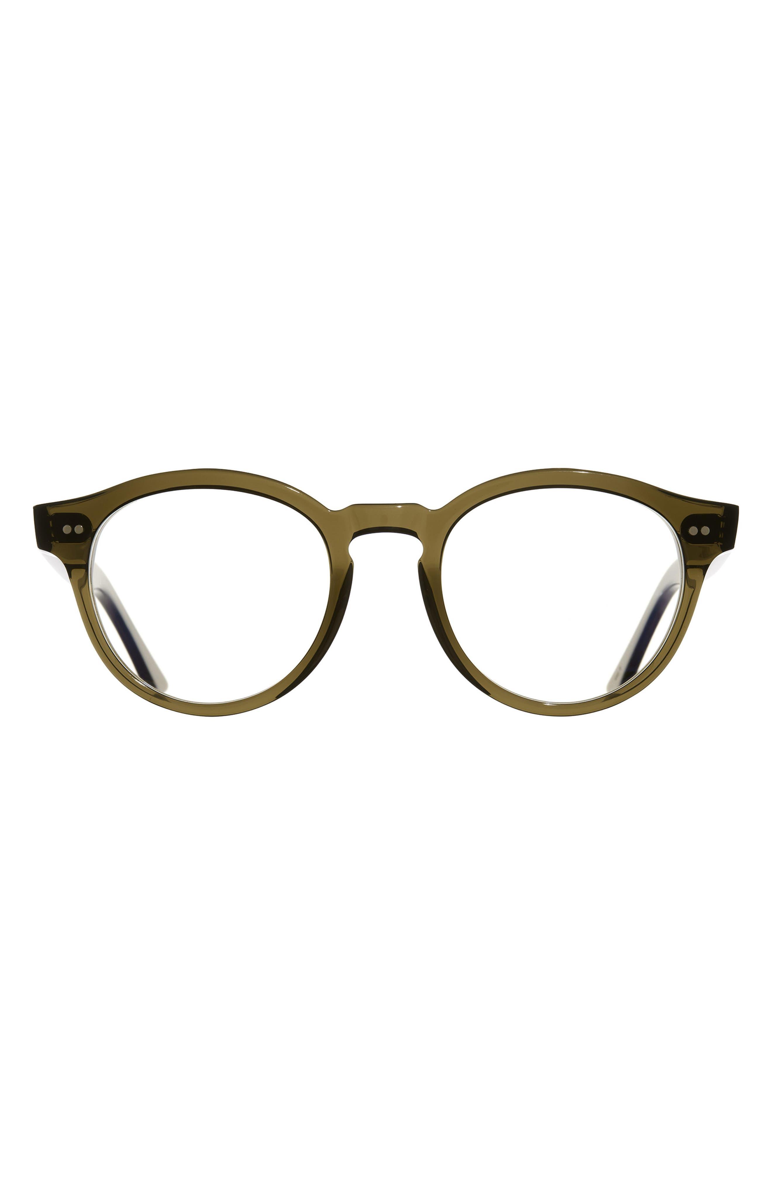 51mm Round Blue Light Blocking Glasses