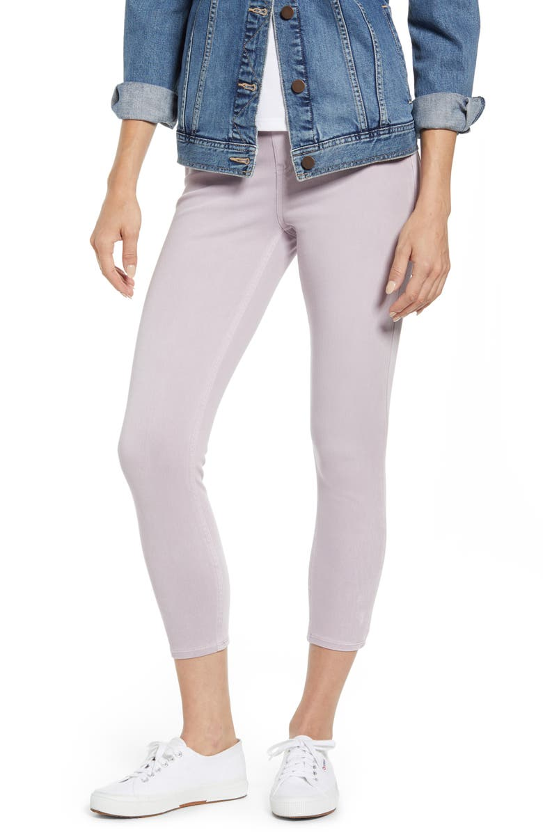 SPANX<SUP>®</SUP> Crop Jean-ish Leggings, Main, color, LAVENDER
