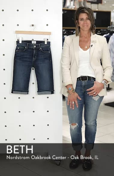 Amelia Rolled Knee Shorts, sales video thumbnail