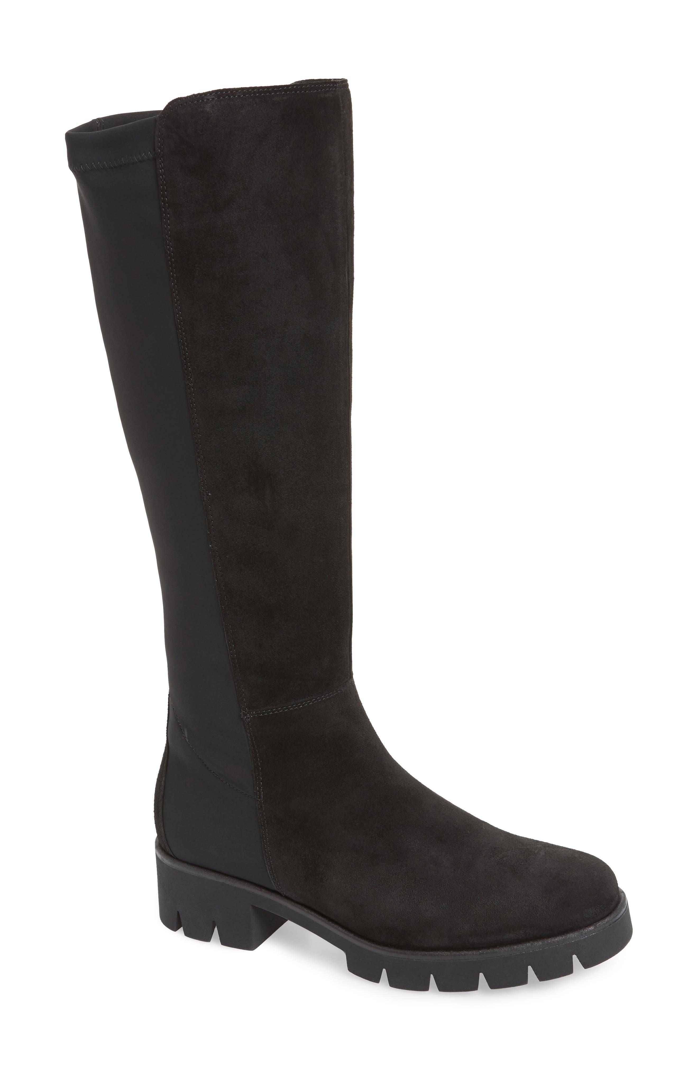 Gabor Ultimate Fashion Comfort Knee High Boot- Black