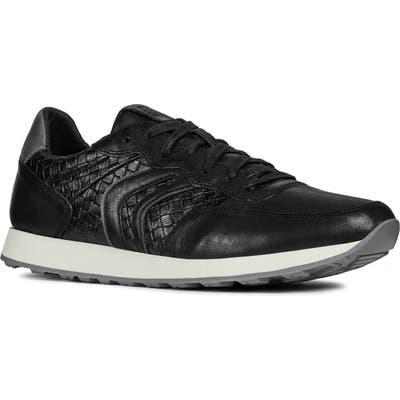 Geox Vincit 4 Sneaker, Black
