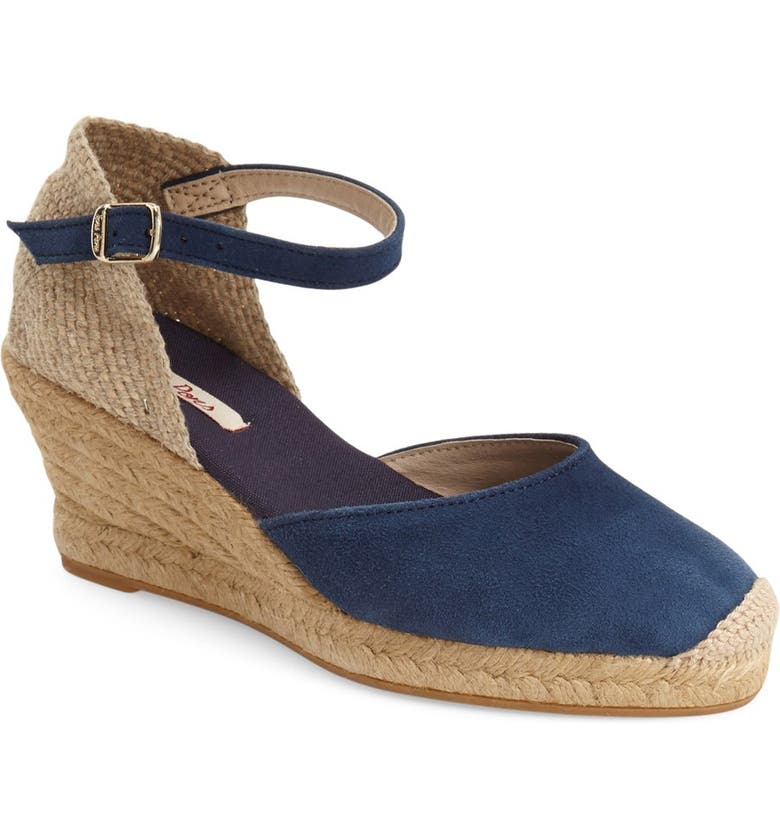 TONI PONS 'Lloret-5' Espadrille Wedge Sandal, Main, color, NAVY SUEDE
