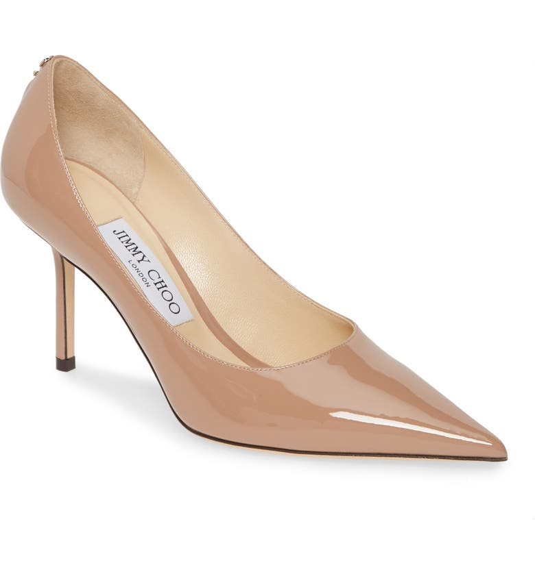 JIMMY CHOO Love Pump, Main, color, BALLET PINK
