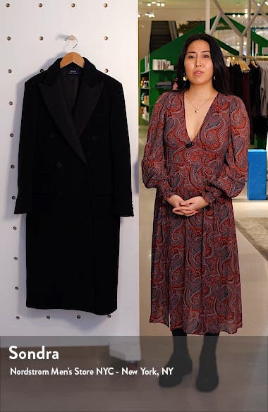 Tux Double Breasted Coat, sales video thumbnail