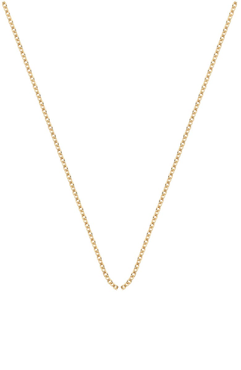 MONICA VINADER Rolo Chain Necklace, Main, color, 710