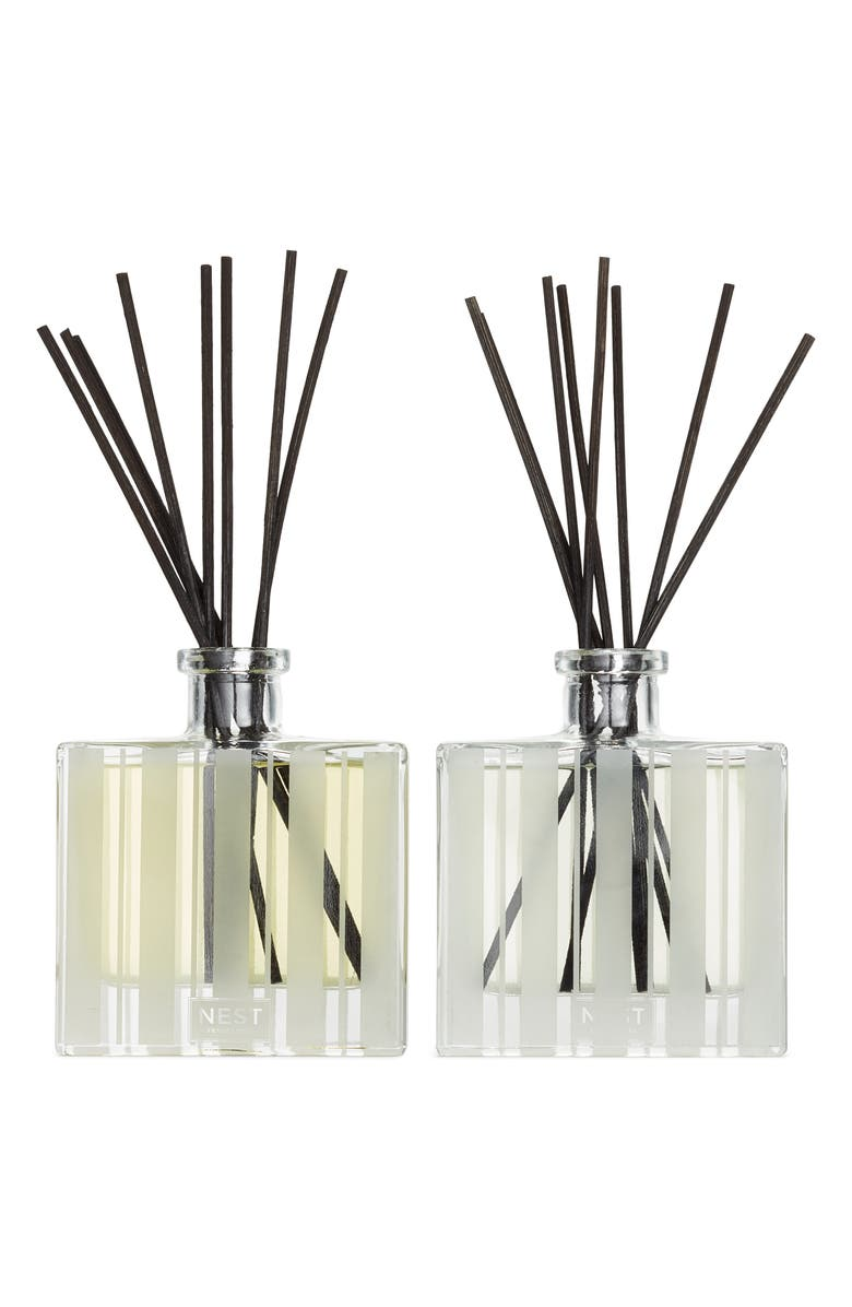 NEST FRAGRANCES Bamboo & Grapefruit Reed Diffuser Duo, Main, color, NO COLOR