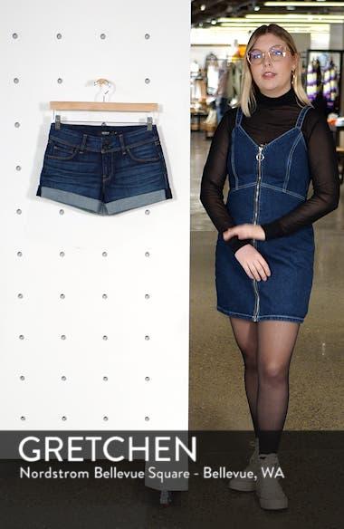 Croxley Cuffed Denim Shorts, sales video thumbnail