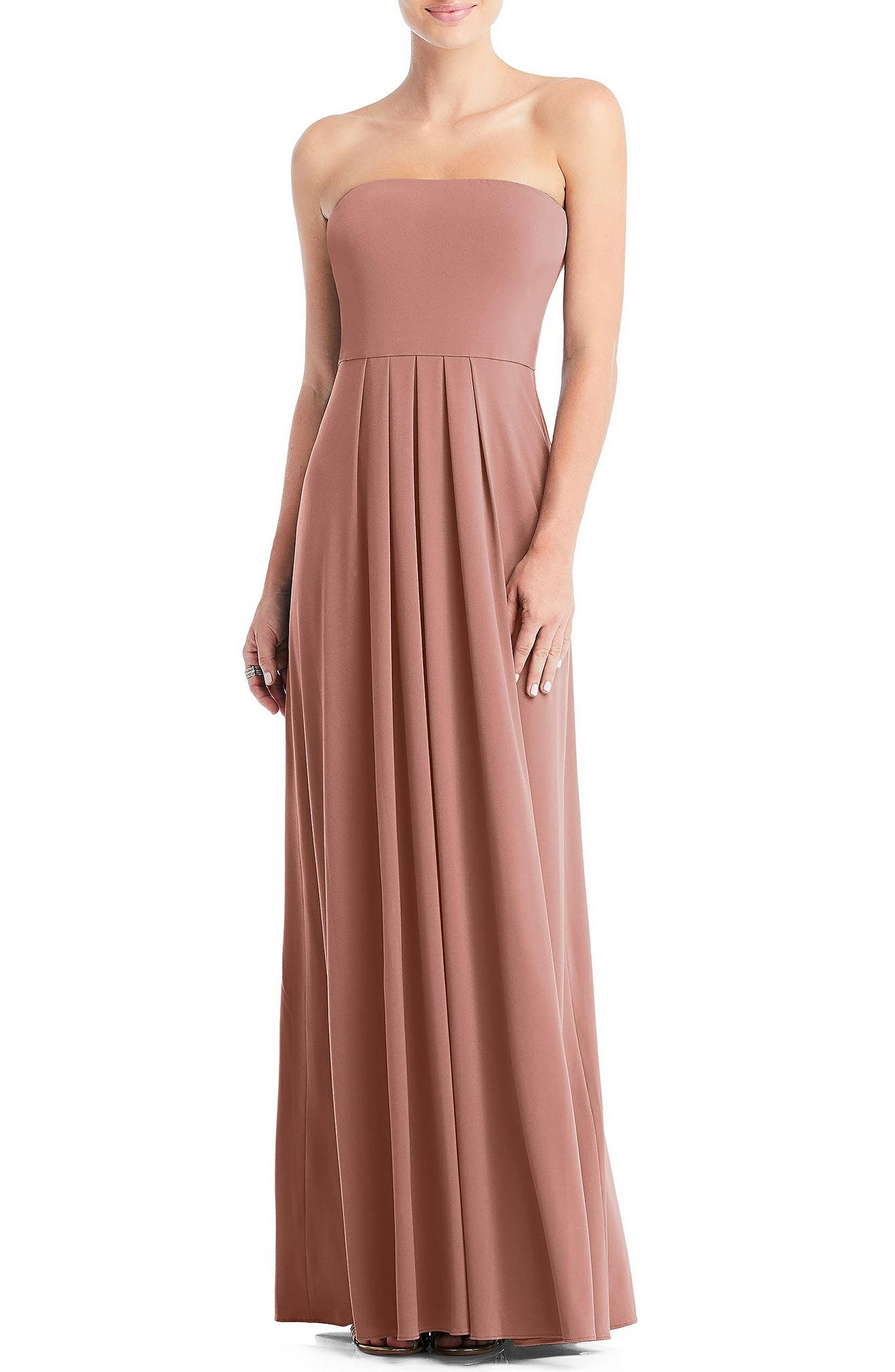 Multi-Way Loop A-Line Gown