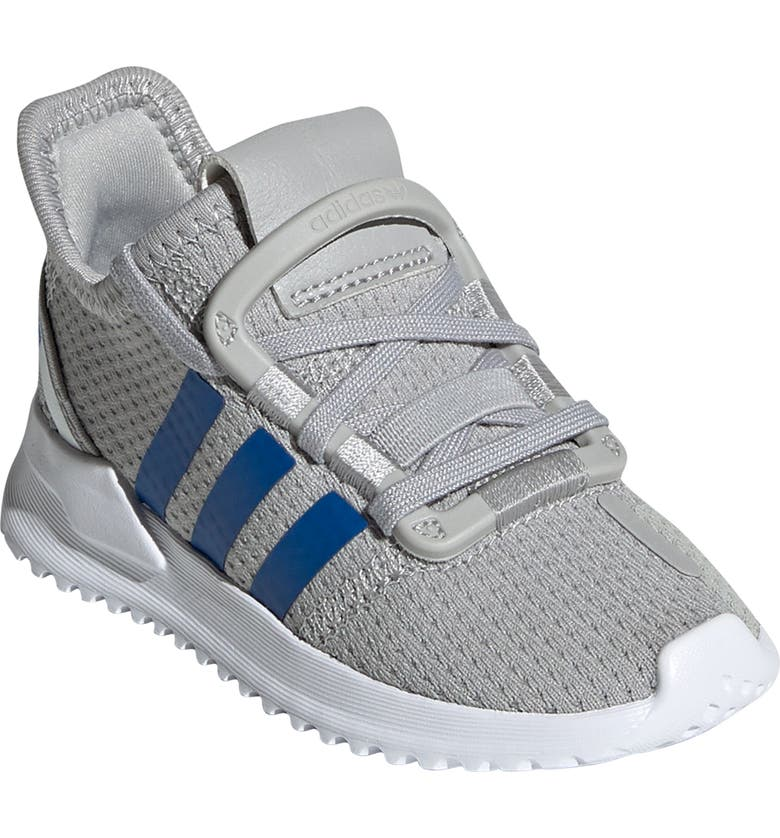 ADIDAS U-Path Run Sneaker, Main, color, GREY TWO/ BLUE/ WHITE