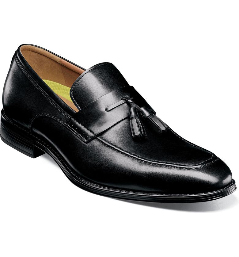 FLORSHEIM Amelio Tassel Loafer, Main, color, BLACK