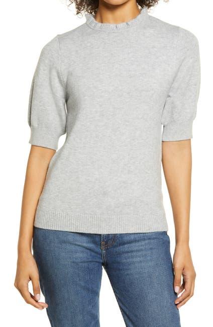 Image of Halogen® Stripe Rib Sweater