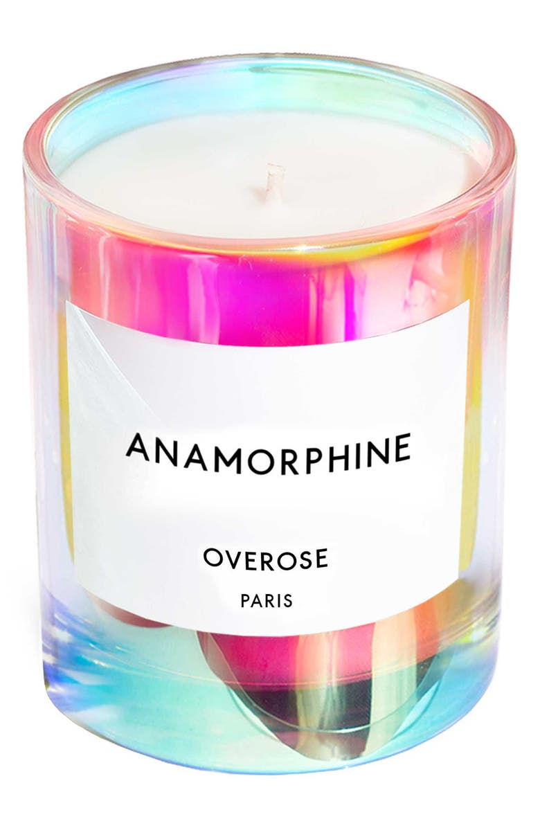 OVEROSE Holographic Anamorphine Candle, Main, color, 000