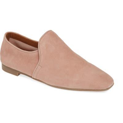 Aquatalia Revvy Weatherproof Loafer- Pink