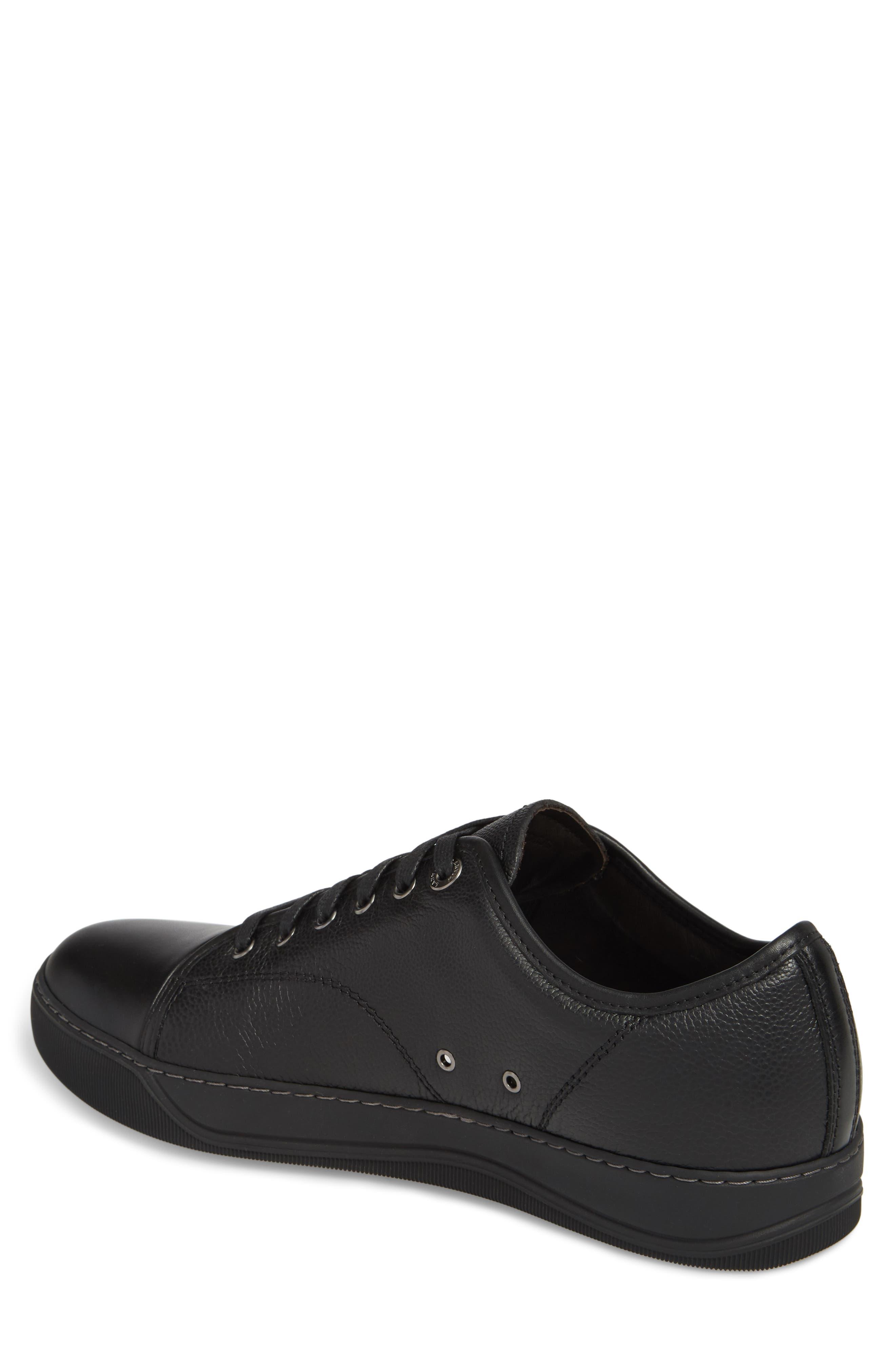 ,                             Shiny Cap Toe Sneaker,                             Alternate thumbnail 2, color,                             001