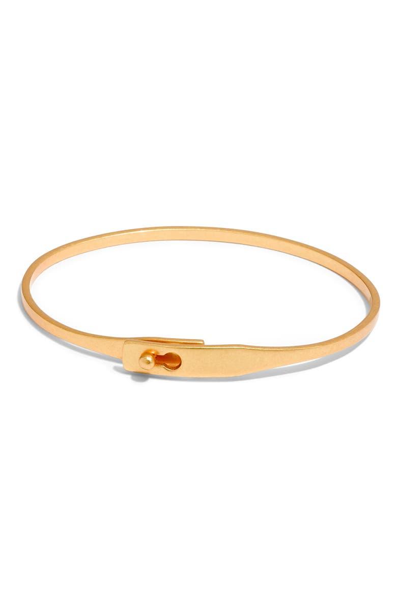 MADEWELL Delicate Glider Bangle Bracelet, Main, color, 710