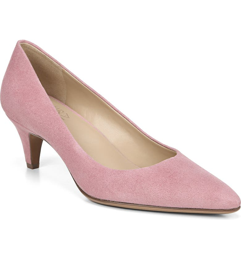 NATURALIZER Beverly Pump, Main, color, ROSEWOOD SUEDE