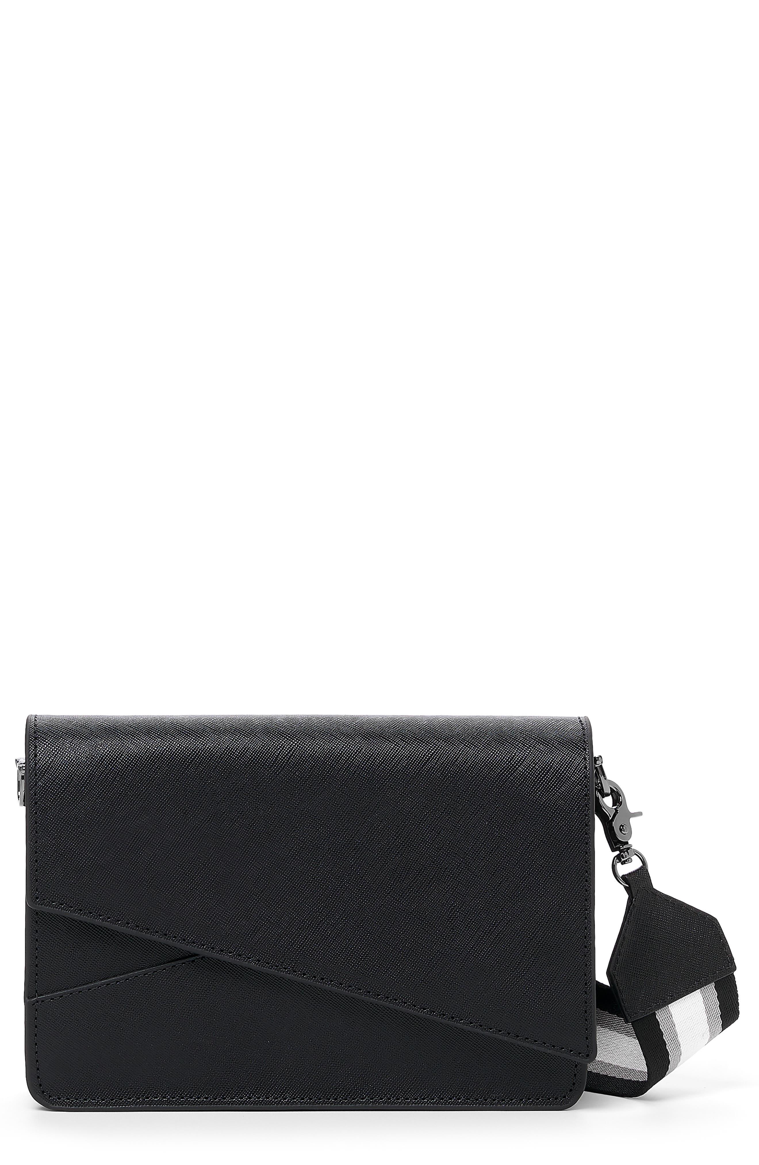 Crosstown Leather Crossbody Bag
