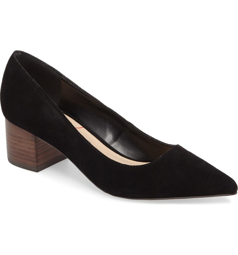 SOLE SOCIETY Andorra Pump, Main, color, BLACK