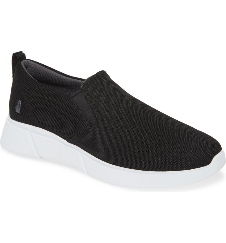 HUSH PUPPIES<SUP>®</SUP> Hush Puppies Cooper Slip-On Sneaker, Main, color, BLACK HEATHERED